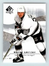 2008-09 UPPER DECK SP AUTHENTIC WAYNE GRETZKY Insert Card # 2 Los Angeles Kings