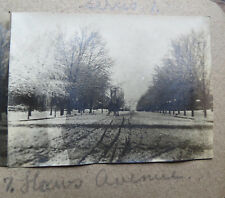 HAWS AVENUE NORRISTOWN PA - OLD HOME MADE STEREOVIEW