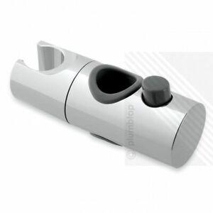 19mm Shower Head Handset Holder Bracket Height Adjuster in Chrome