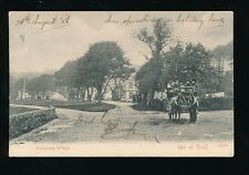 Scotland Isle of Bute Kerrycroy Village Horse Charabanc bus PPC Used 1906