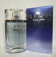 Franck Olivier Sunrise 2.5oz Men's Eau de Toilette New In The Box