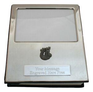 Sloth Design Silver Personalised Album FREE ENGRAVING 100 Photos 435