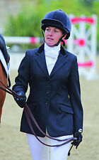 """Ladies Horse Riding Cotswold Show Jacket -  Black - Size 36"""" by Shires"""