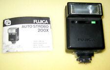 Fujica Auto Strobo 200X Flash with Instructions