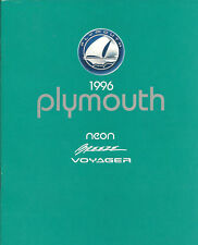 1996 Plymouth Brochure / catalog: NEON,BREEZE,Grand,VOYAGER