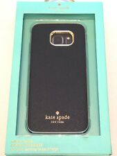 Kate Spade New York Wrap Case for Samsung Galaxy S7 Edge Saffiano Black