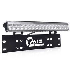 MICTUNING 50W LED Work Driving Light Bar w/ Front License Plate Mounting Braket