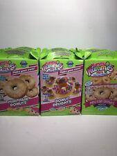 Yummy Nummies Mini Fair Donuts Kitchen Magic Donut Delights LOT of 12 Kits