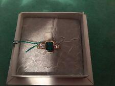 Anello, oro, gioelleria, smeraldo