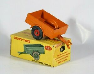 Dinky Toys GB N° 341 Land Rover Trailer Never Unplayed IN Box MIB