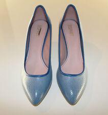 Esprit Pumps Damen Schuhe blau Gr. 38 NEU