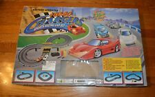 1990's LIGHTNING Turbo Chargers Sports Racing Car Set EUC WORKS Battery-Operated