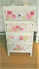 Cath Kidston Rose Antiguo Wallpaper Decoupage Kit Kit de Artesanía de Muebles Hermosa!