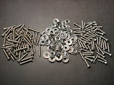"#8 x 3/4"" & 1"" stainless kick panel door interior trim screws & washers GM GMC"