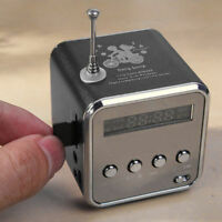 Portable Micro SD TF USB Mini Stereo Bass Speaker Music Player FM Radio MP3 KY