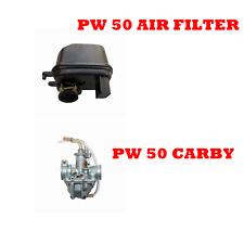 YAMAHA PEEWEE 50cc PW50 PY50 YZINGER50 dirt Carburetor CARBY + AIR FILTER PW 50