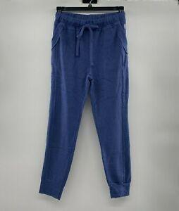 Free People FP Movement Women's Work it Out Joggers Sweatpants Indigo Blue M $68