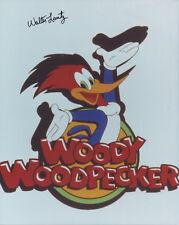WALTER LANTZ Signed 10x8 Photo WOODY WOODPECKER COA