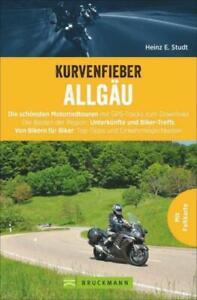 Reiseführer Motorrad Touren Kurvenfieber Allgäu Bodensee + GPS-Tracks Bruckmann