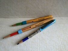 Lot of 3 pencil-lengtheners with advertisement - Germany