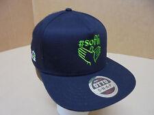 #Sofli Ball Cap OTTO 3030 Pro Premium Flat Bill Black Snapback Hat NEW