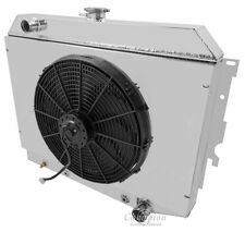 """16"""" Fan and Shroud Combo Only (No radiator) For 70-74 Mopar 26"""" Core"""