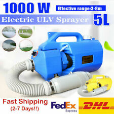 5L ULV Electric Fogger Disinfection Sprayer Mosquito Killer Office Home Portable