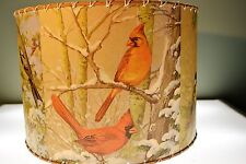 "Northern Birds, Lamp Shade 14 x 14"", Rustic Cabin Decor"