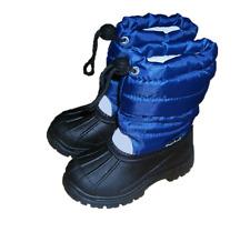 Playshoes Winterstiefel, blau, Gr. 24/25