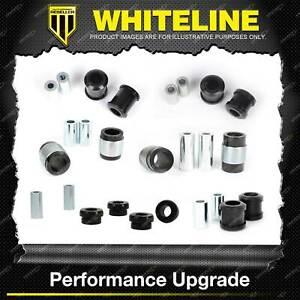 Whiteline Rear Control Arm Lower Upper Bush Kit for Audi A3 Q3 8U S3 TT MK2