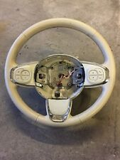 FIAT 500 CREAM LEATHER STEERING WHEEL AND MULTIFUCTION CONTROLS 2016-ON