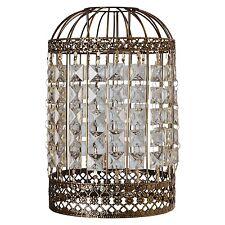 Bird cage Ceiling Shade Metal Pendant Bronze Effect Cutwork Brand New
