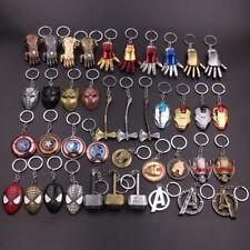Avengers Marvel Heros Spider Iron man Thor Thanos Captain America Key Ring Chain