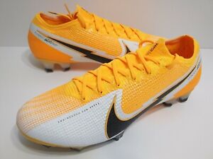 Nike Vapor 13 Elite FG Soccer Cleats Mens Sz 6.5 Womens Sz 8 Orange AQ4176-801