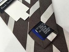 """Paul Smith Étroit Cravate 6cm Rayure Diagonale Design Mainline""""Fabriqué en"""