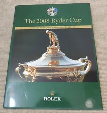 THE 2008 RYDER CUP - Valhalla Golf Club ROLEX Annual Thames Hospice