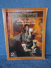 Dungeons & Dragons Forgotten Realms  NIGHT WATCH IN THE LIVING CITY  9316  VGC