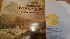 BRUCH VIOLIN CONCERTOS - YONG UCK KIM BSO KAMU - 2535 294 LP