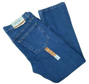 Faded Glory Classic Fit Straight Leg Mens Jeans 32 x 30 Medium Wash