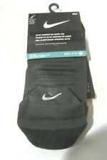 1 Pair Men's Nike DRI-FIT Elite Cushion No Show Tab Socks Men's Shoe SZ 10-11.5