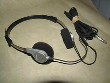 SONY MDR-3 Stereo Headphones For Vintage TPS-L2 Walkman, EUC Tested