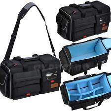 Professional Digital DSLR Cameras Camcorder Bag Large Backpack Shoulder Bag Case