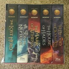 NEW HARDCOVER The Heroes of Olympus Series 5 Book Set Rick Riordan Boxed SEALED