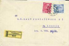 427177) Ukraine Österreich Nr. 144+184 a. Einschreiben aus Lemberg