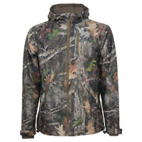 Ex Mossy Oak Big And Tall Unisex Waterproof Jacket For Hunting, Fishing Outdoor