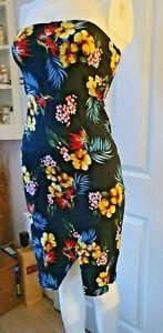 Gorgeous Black Floral Dress - L - Motel Rocks - Excellent Condition - Worn Once