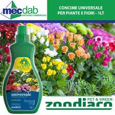 Concime Liquido Universale Per Tutte Le Piante Rose e Fiori 1 LT Oro Verde