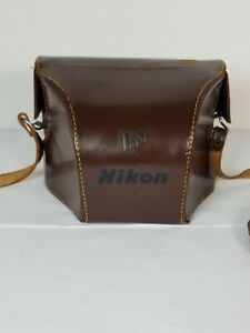 Nikon F Nippon Kogaku Leather Camera Case
