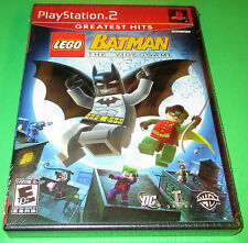 LEGO Batman: The Videogame Playstation 2 (PS2) Factory Sealed! Free Shipping!