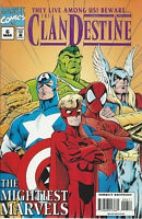 Marvel Comics # 6 MAR THE CLANDESTINE THE MIGHTIEST MARVELS THEY LIVE AMONG US